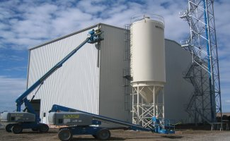 grain storage finish